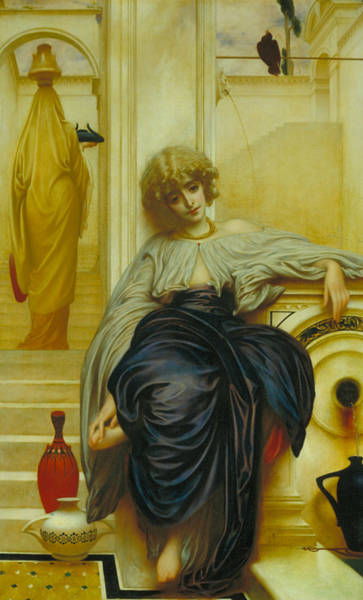 Wall Art - Painting - Lieder Ohne Worte by Frederic Leighton