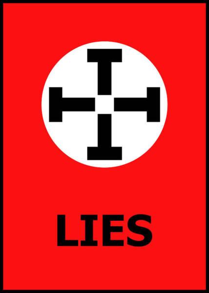 Photograph - Lies by Richard Reeve