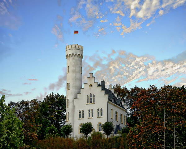 Photograph - Lietzow Castle by Anthony Dezenzio