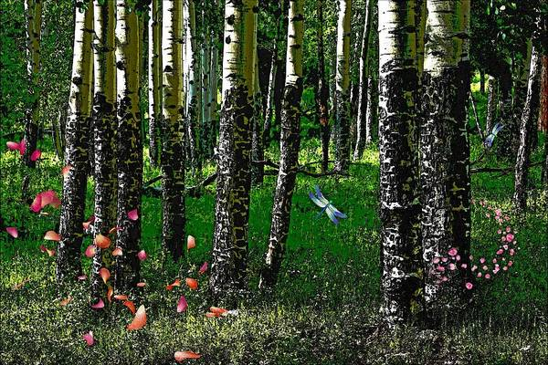 Photograph - Life Among The Aspens by Tranquil Light Photography