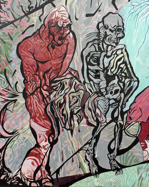 Ranchera Wall Art - Digital Art - Life And Death Walk by Jimmy Longoria