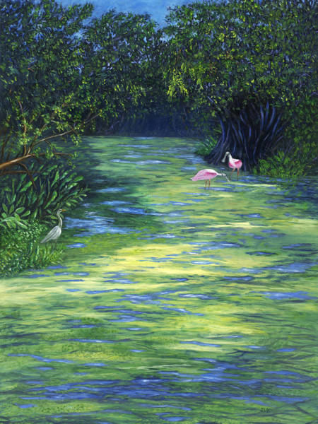 Painting - Life At The Refuge by Karen Zuk Rosenblatt