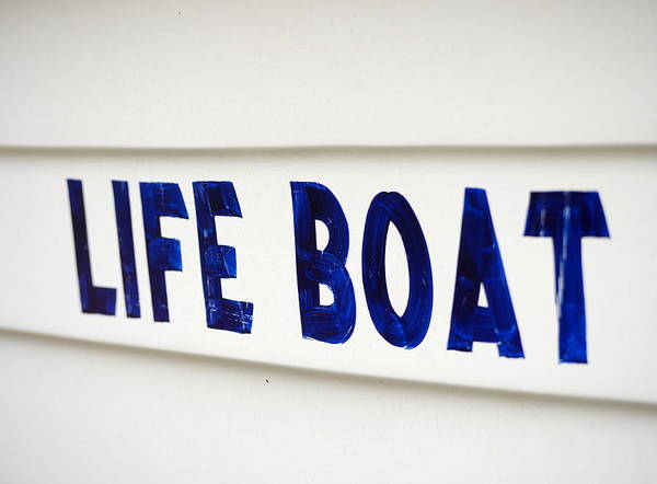 Photograph - Life Boat  by Richard Reeve