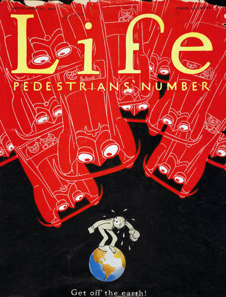 Photograph - Life Cover: Automobile by Granger