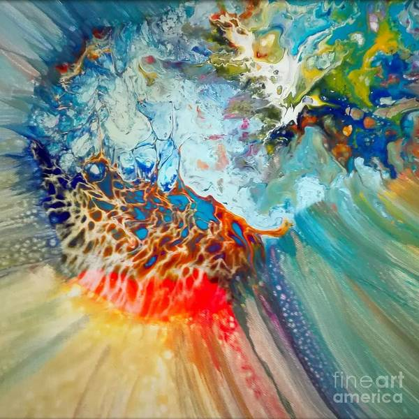Abstractionism Painting - Life by Giuseppina Rizzi