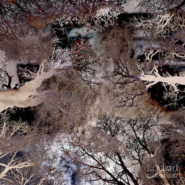 Digital Art - Life In A Bush Of Ghosts by Silva Wischeropp