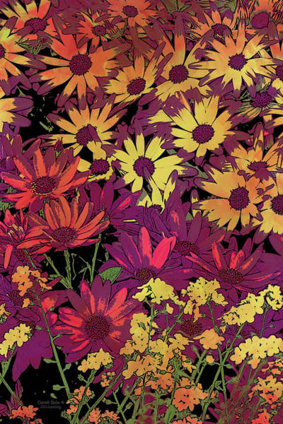 Wall Art - Painting - Life In Flowers by JQ Licensing
