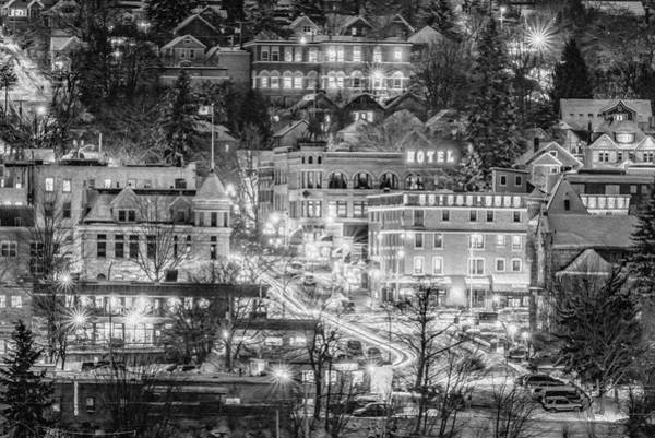 Nelson Bc Photograph - Life In The Fairytale- Bw by Joy McAdams