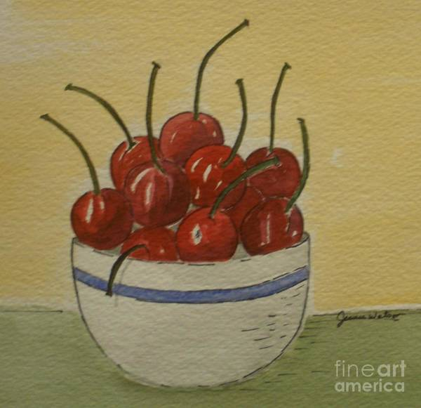 Painting - Life Is A Bowl Of.... by Jeanie Watson