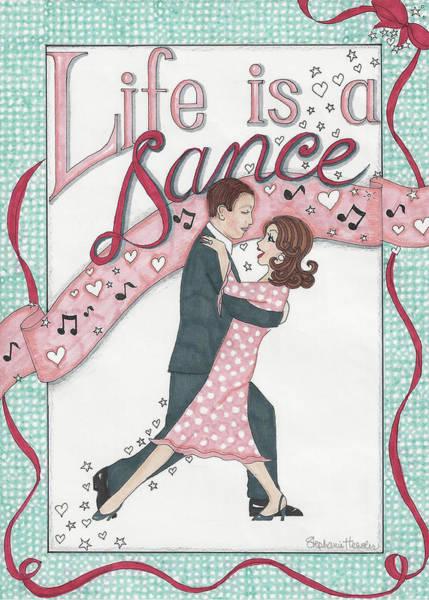 Life Is A Dance Art Print