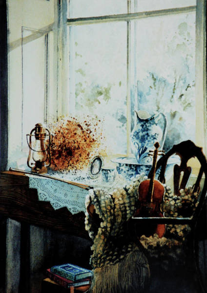 Doily Painting - Life Is A Song by Hanne Lore Koehler