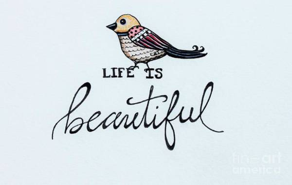 Painting - Life Is Beautiful by Elizabeth Robinette Tyndall