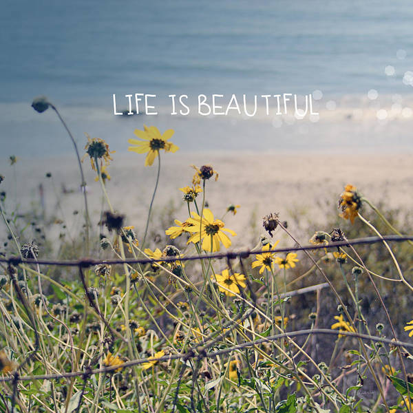 Wildflowers Wall Art - Photograph - Life Is Beautiful by Linda Woods
