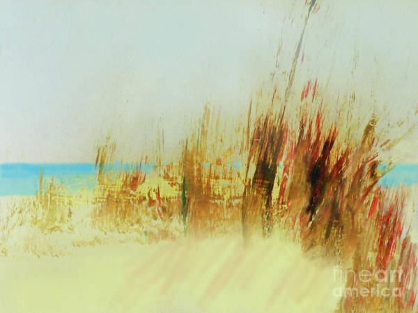 Dune Mixed Media - Life Is Better On The Beach by Sharon Williams Eng