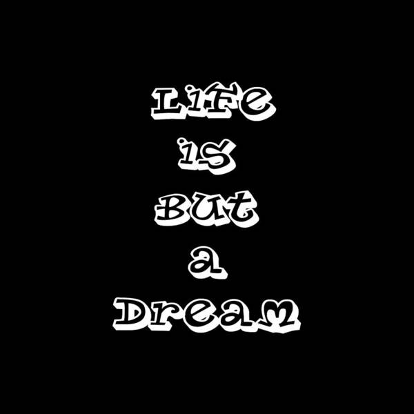 Digital Art - Life Is But A Dream Art Print Poster by Ai P Nilson