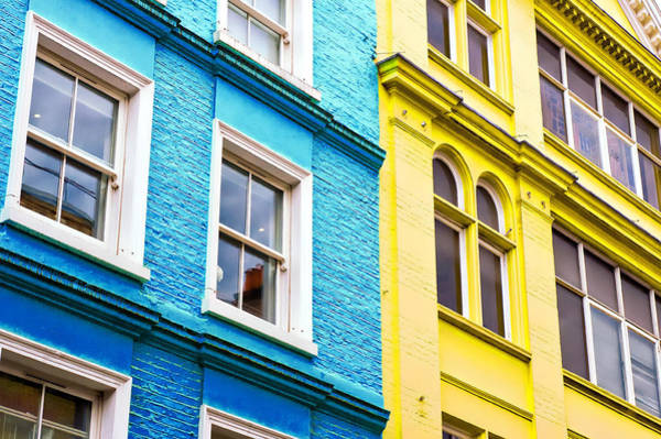 Old Wall Art - Photograph - Life Is Colourful by Tom Gowanlock