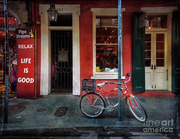 Photograph - Life Is Good Bicycle by Craig J Satterlee
