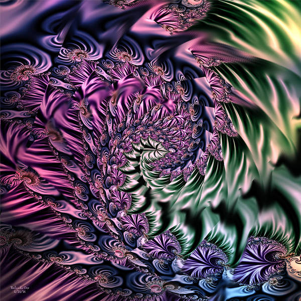 Digital Art - Life Is So Fract by Artful Oasis