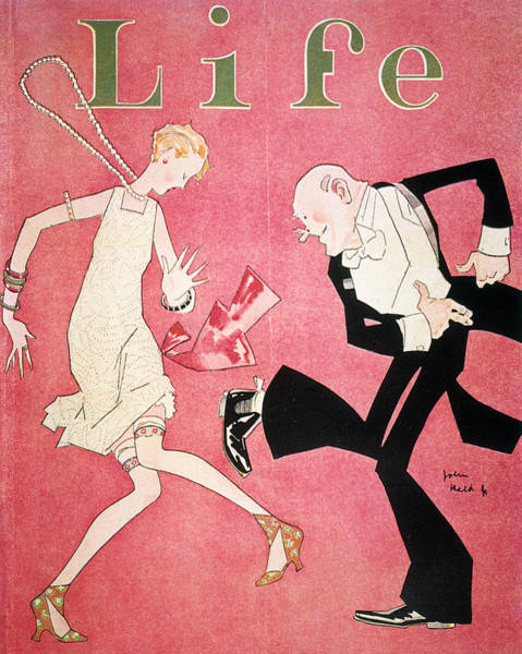 Wall Art - Photograph - Life Magazine Cover, 1926 by Granger