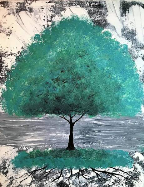 Wall Art - Painting - Life Of A Tree by Willy Proctor