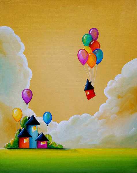 Wall Art - Painting - Life Of The Party by Cindy Thornton