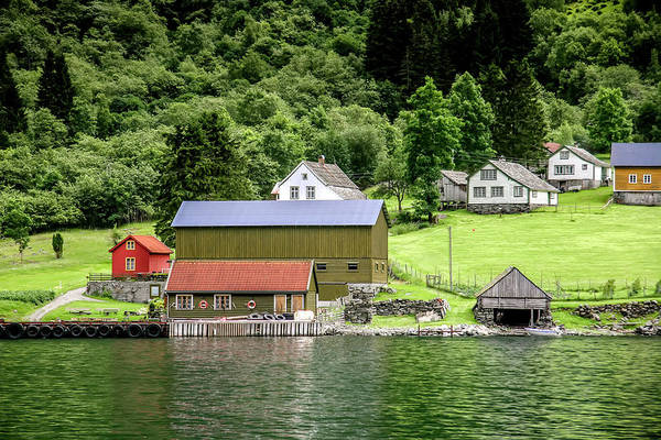 Photograph - Life On A Fjord by KG Thienemann