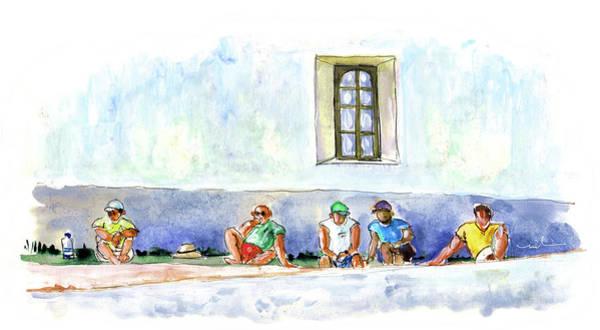 Wall Art - Painting - Life On Culatra Island by Miki De Goodaboom