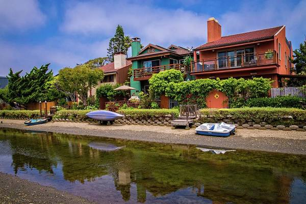 Photograph - Life On The Venice Canals by Lynn Bauer