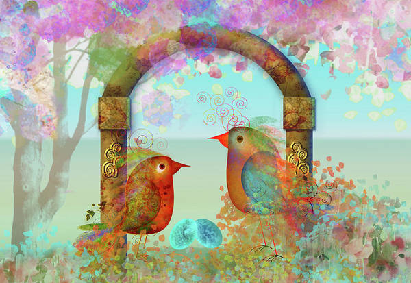 Parenthood Digital Art - Life, The Gift Of Spring by Ruth Ramos