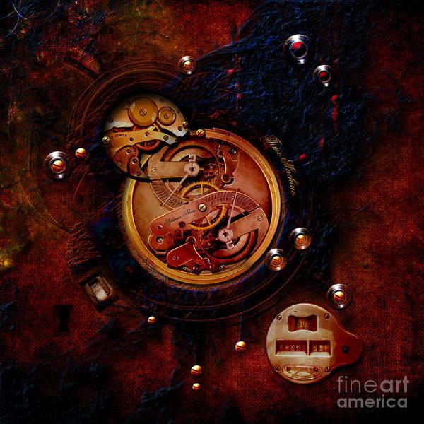 Painting - Life Time Machine by Alexa Szlavics