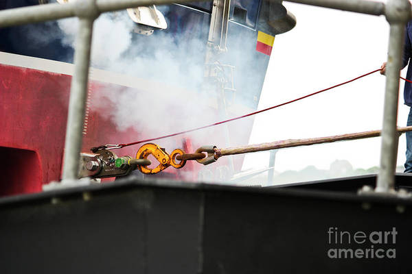 Quick Wall Art - Photograph - Lifeboat Chocks Away  by Terri Waters