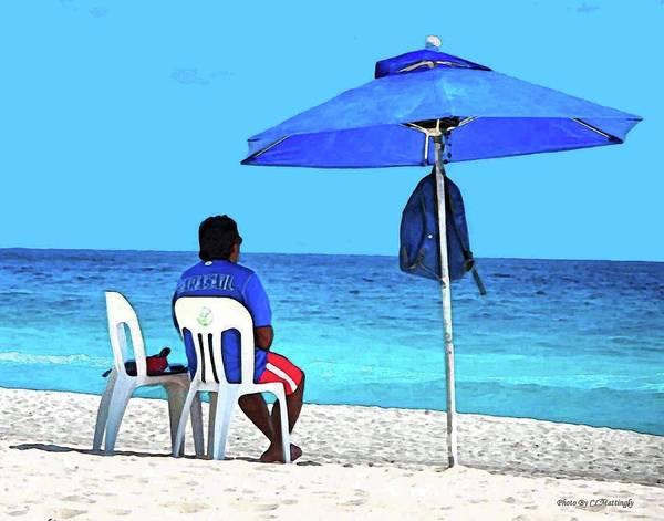 Photograph - Lifeguard by Coleman Mattingly