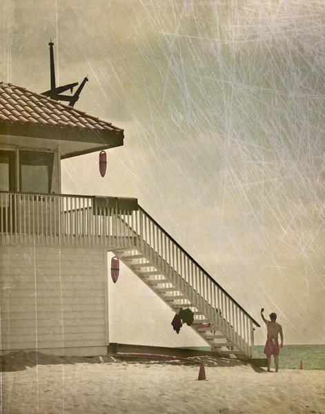 Photograph - Lifeguard Daze by Kevin Bergen