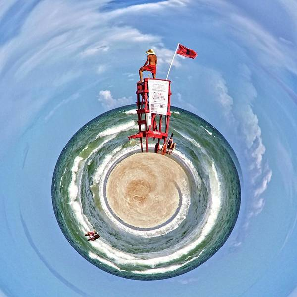 Photograph - Lifeguard In Stereo by Alice Gipson