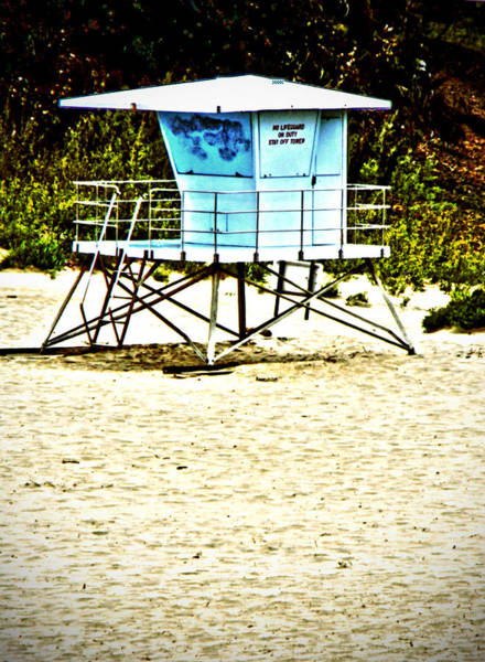 Photograph - Lifeguard Shack by Pacific Northwest Imagery