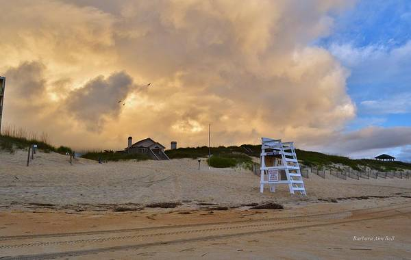 Photograph - Lifeguard Stand 2016 by Barbara Ann Bell