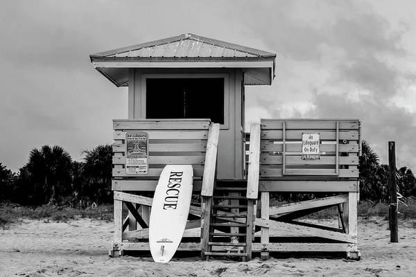 Wall Art - Photograph - Lifeguard Stand by Robert Wilder Jr