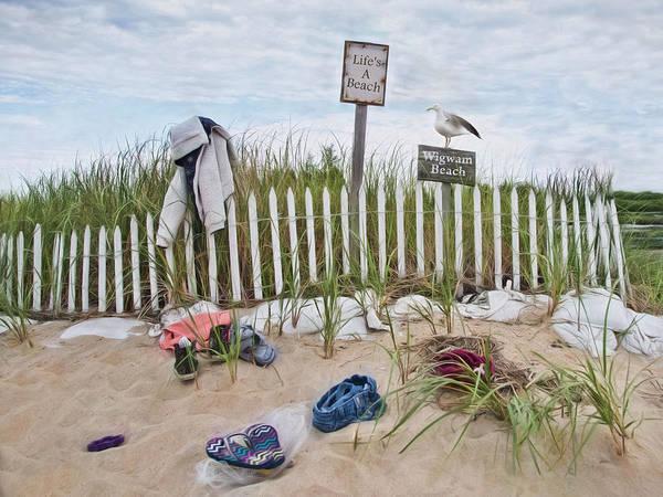 Photograph - Life's A Beach by Robin-Lee Vieira