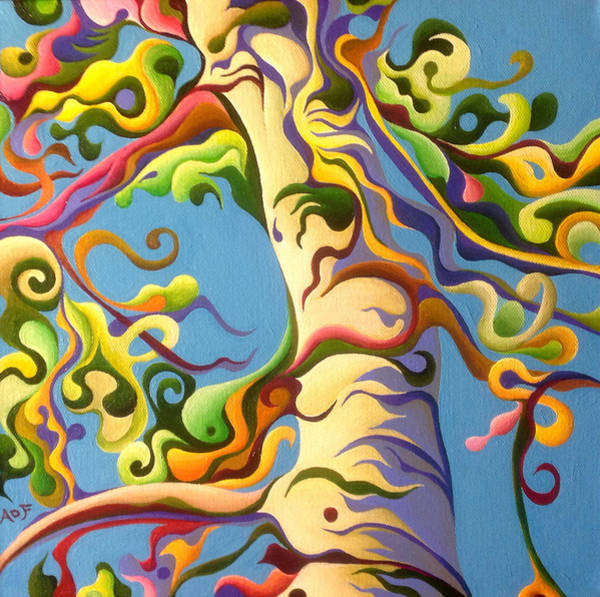 Painting - Life's A Birch by Amy Ferrari