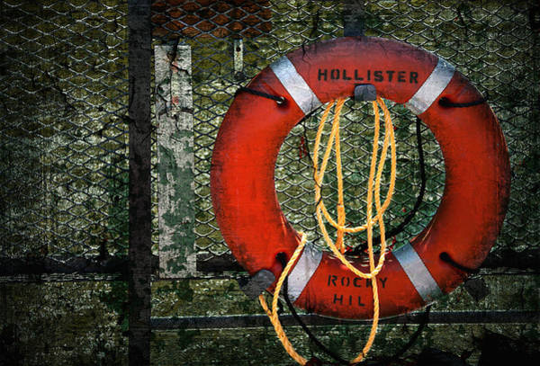Ferry Photograph - Lifesaver by Evelina Kremsdorf