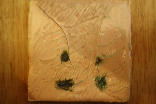 Ceramic Art - Lifted - Tile by Gloria Ssali