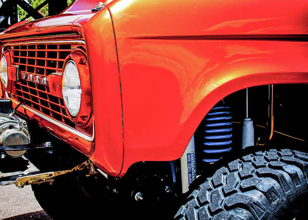 Photograph - Lifted Bronco by SR Green