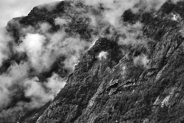 Photograph - Lifting Morning Clouds by David Resnikoff