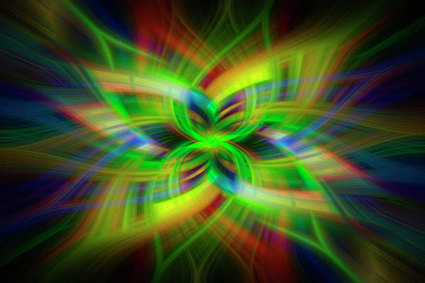 Photograph - Light Abstract 1 by Kenny Thomas