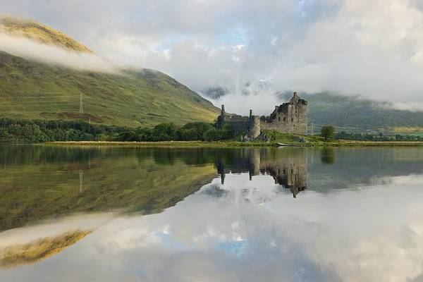 Photograph - Light And Clouds At Kilchurn by Stephen Taylor