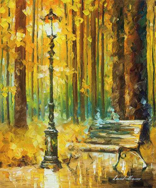 Wall Art - Painting - Light And Passion by Leonid Afremov