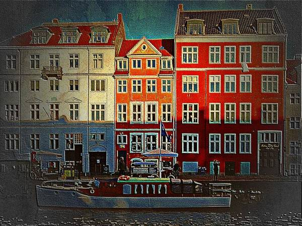 Kopenhagen Photograph - Light And Shade by Dorothy Berry-Lound