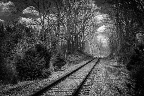 Vernon County Photograph - Light At The End Of The Line by John Prause