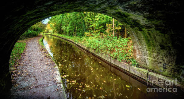 Narrow Boat Wall Art - Photograph - Light At The End Of The Tunnel by Adrian Evans