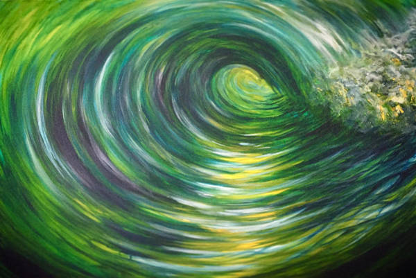 Painting - Light At The End Of The Tunnel by Michelle Pier